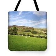 Hill Range North Of Edale Tote Bag