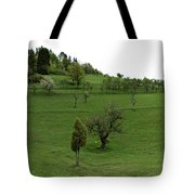 Hills And Fields Tote Bag