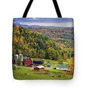 Hillside Acres Farm Tote Bag