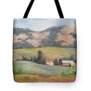 Hillside Farm Tote Bag