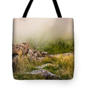 Hillside Haze Tote Bag