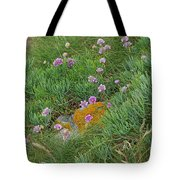 Hillside Of Wildflowers Tote Bag
