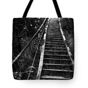 Hillside Stairs Tote Bag