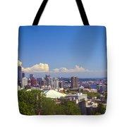 Hilltop View Tote Bag