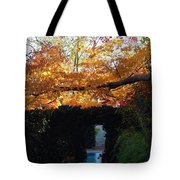 Hillwood Mansion Fall Garden Tote Bag