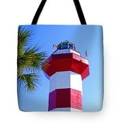 Hilton Head Lighthouse Upclose Tote Bag