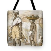 Hindu Valet Or Buyer Of Food, From The Tote Bag