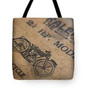 Hints On A Raleigh Tote Bag