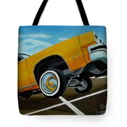 Hip Hoppin Chevy Tote Bag