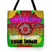 Hippie Art Tote Bag