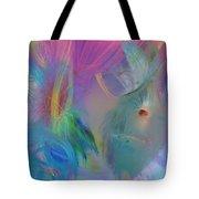 Hippie Girl Tote Bag