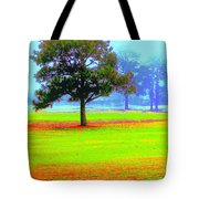 Hippie In The Tree Tote Bag