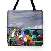 Hippie Man Van Tote Bag