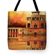 Hiran Minar Tote Bag