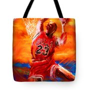 His Airness Tote Bag by Lourry Legarde