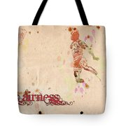 His Airness - Michael Jordan Tote Bag by Paulette B Wright
