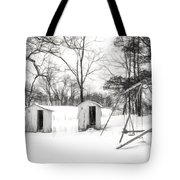 His And Hers - Charcoal  Tote Bag