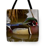 His Majesty Wood Duck Tote Bag