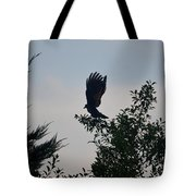 His Morning Stretch Tote Bag