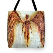 His Promise Tote Bag by Ivan Guaderrama