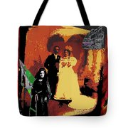 Hispanic Wedding Libertad Lady Photo Gallery Collage 1880-2010 Tote Bag