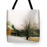 Historic 1700's Farmhouse Tote Bag