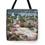 Historic Annapolis Maryland Tote Bag