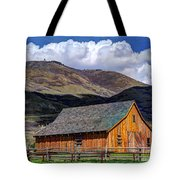 Historic Barn - Wasatch Front Tote Bag