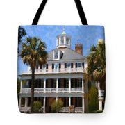 Historic Battery Home Tote Bag