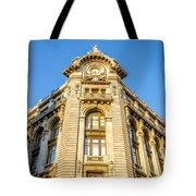 Historic Building Facade Tote Bag