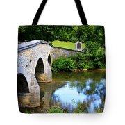 Historic Burnside Bridge Tote Bag