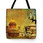Historic Center Of Saint Petersburg Tote Bag