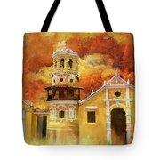 Historic Center Of Santa Cruz De Mompox Tote Bag
