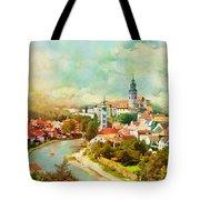 Historic Centre Of Cesky Krumlov Tote Bag