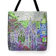 Historic Churches St Louis Mo - Digital Effect 4 Tote Bag