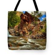 Historic Colorado Landscape Tote Bag