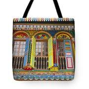 Historic Colorful Peranakan House Tote Bag