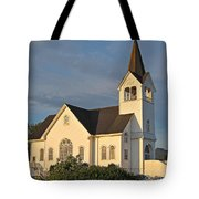 Historic Country Church Art Prints Tote Bag