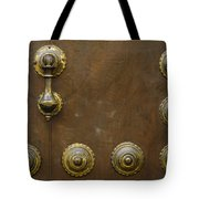 Historic Door In Granada Tote Bag