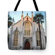 Historic Downtown Church Tote Bag