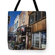 Historic Downtown Truckee California Tote Bag