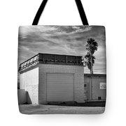 Historic Estrella Gas Station Desert Hot Springs Tote Bag