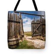 Historic Fort Bridger Gate - Wyoming Tote Bag