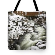 Historic Harrisville Nh In Winter Tote Bag