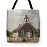 Historic Hinerville School  House  Tote Bag