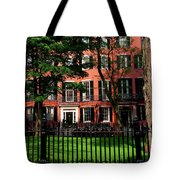 Historic Homes Of Beacon Hill, Boston Tote Bag