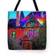 Historic House Pop Art Tote Bag