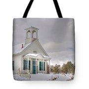 Historic Huffaker Schoolhouse Tote Bag