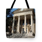 Historic Limestone County Courthouse In Athens Alabama Tote Bag