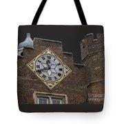 Historic London Clock Tote Bag